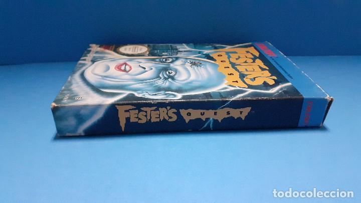 Videojuegos y Consolas: juego para nintendo nes. Festers quest , Festers Quest. Completo. - Foto 16 - 247442300