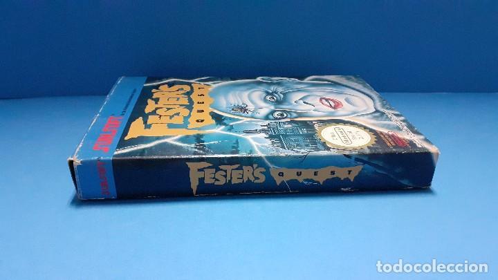 Videojuegos y Consolas: juego para nintendo nes. Festers quest , Festers Quest. Completo. - Foto 18 - 247442300