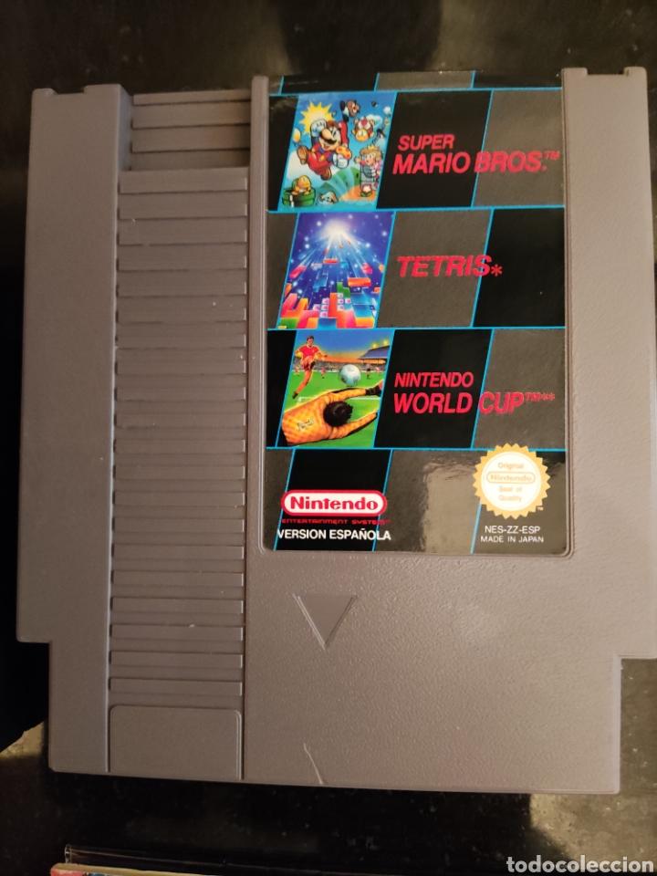Videojuegos y Consolas: Mario / Tetris / World cup y Manual Nintendo Nes - Foto 3 - 248086125