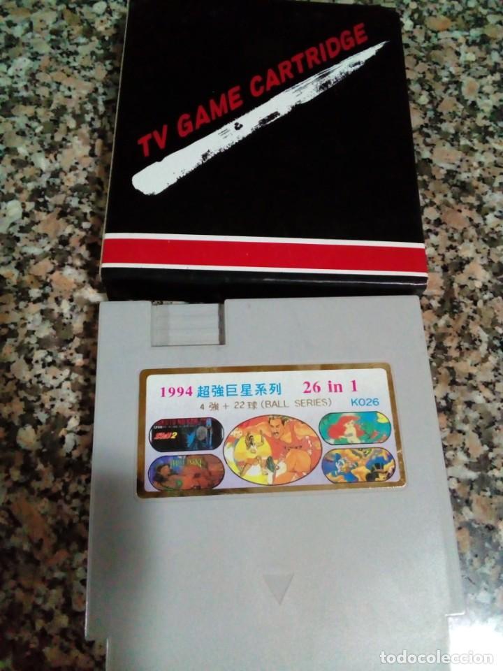 JUEGO PARA NINTENDO TV GAME CARTRIDGE ,26 JUEGOS EN 1 CARTUCHO (Juguetes - Videojuegos y Consolas - Nintendo - Nes)