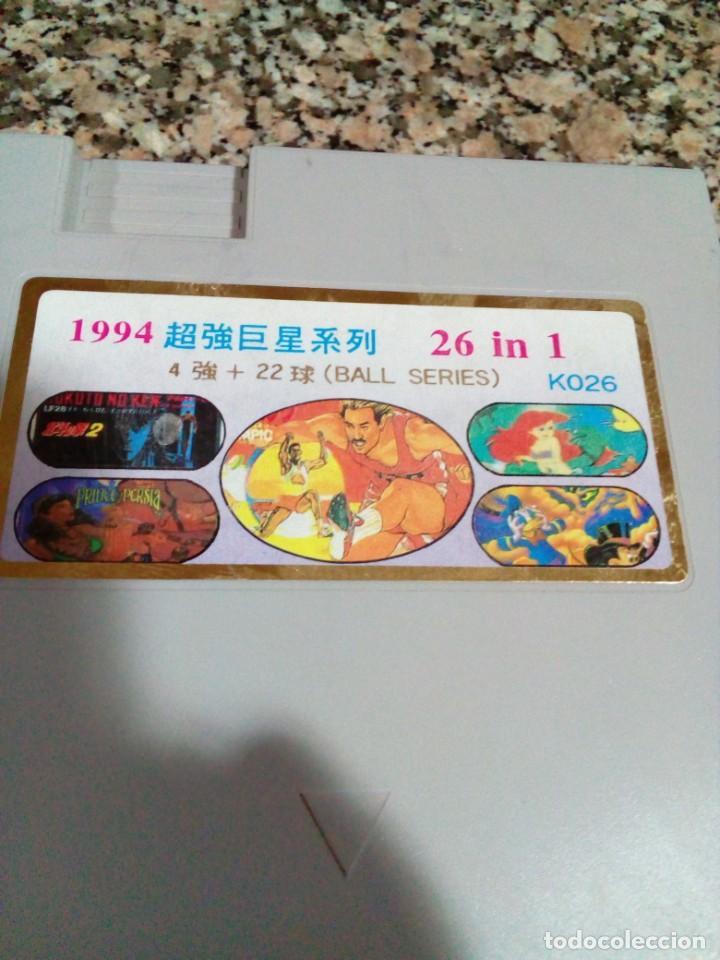 Videojuegos y Consolas: juego para nintendo TV GAME CARTRIDGE ,26 juegos en 1 cartucho - Foto 3 - 249195005
