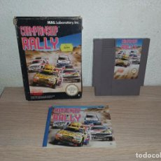 Videojuegos y Consolas: CHAMPIONSHIP RALLY NINTENDO NES. Lote 278934033