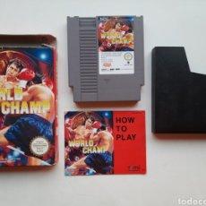 Videojuegos y Consolas: WORLD CHAMP COMPLETO NINTENDO NES. Lote 252541785