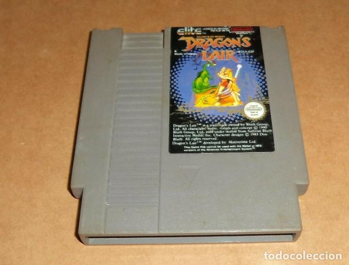 DRAGON'S LAIR PARA NINTENDO NES, PAL (Juguetes - Videojuegos y Consolas - Nintendo - Nes)