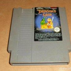 Videojuegos y Consolas: DRAGON'S LAIR PARA NINTENDO NES, PAL. Lote 253161190