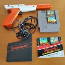 Videojuegos y Consolas: SUPER MARIO BROS / DUCK HUNT + ZAPPER NINTENDO NES. Lote 254499805