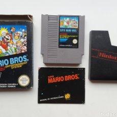 Videojuegos y Consolas: SUPER MARIO BROS NINTENDO NES. Lote 254565805
