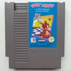 Videojuegos y Consolas: TOM & JERRY NINTENDO NES. Lote 254580655