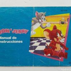 Videojuegos y Consolas: MANUAL TOM & JERRY NINTENDO NES. Lote 254580875