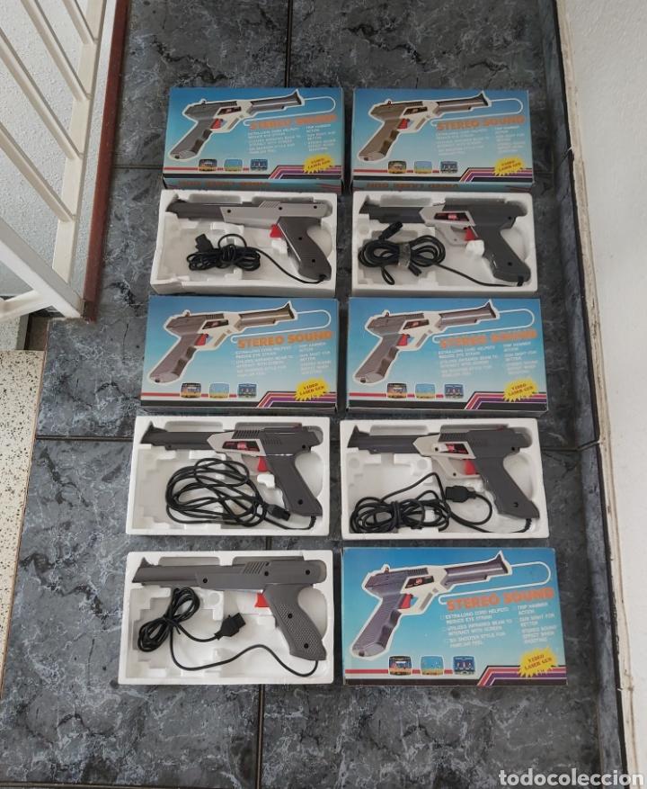 LOTE 5 PISTOLAS CLONICAS NINTENDO NES EN CAJA (Juguetes - Videojuegos y Consolas - Nintendo - Nes)