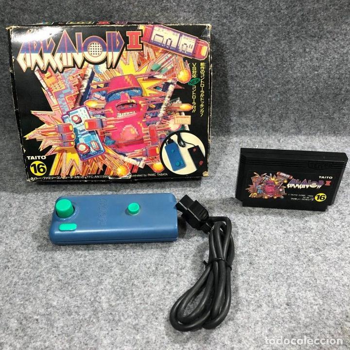 ARKANOID II+CONTROLLER NINTENDO FAMICOM NES (Juguetes - Videojuegos y Consolas - Nintendo - Nes)