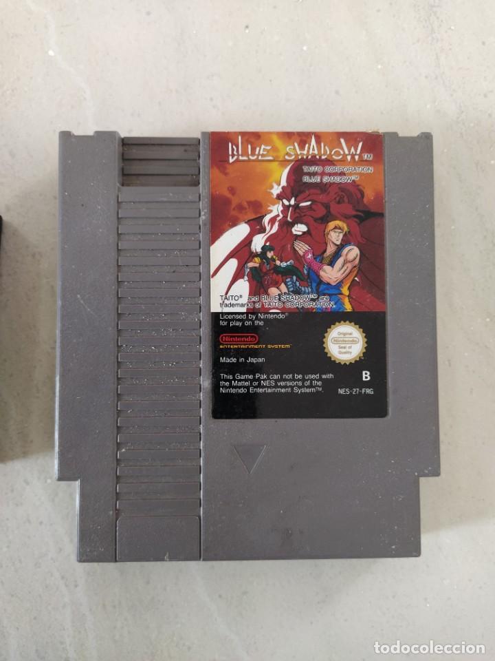 BLUE SHADOW NINTENDO NES PAL-B FRG (Juguetes - Videojuegos y Consolas - Nintendo - Nes)