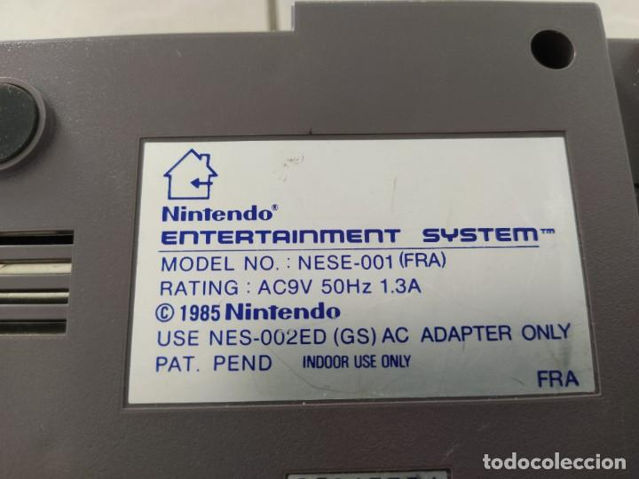 Videojuegos y Consolas: NINTENDO NES MODELO CON SALIDA RGB - Foto 4 - 255558905