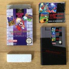 Videogiochi e Consoli: NINTENDO 3 EN 1 NES - MARIO TETRIS WORLD CUP - COMPLETO Y EN BUEN ESTADO. Lote 259773800