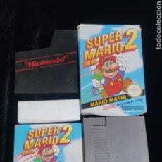 Videojuegos y Consolas: JUEGO SUPER MARIO BROS 2,NINTENDO NES,ORIGINAL Y CON LIBRO DE INSTRUCCIONES. ENVIO NACIONAL GRATIS.. Lote 259929550