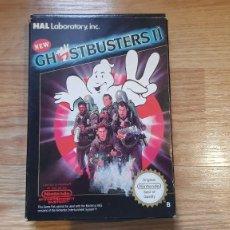 Videogiochi e Consoli: JUEGO GHOSTBUSTERS II EDICION ESPAÑOLA CAZAFANTASMA FUNCIONA ORIGINAL DE EPOCA NINTENDO - NES. Lote 259948580