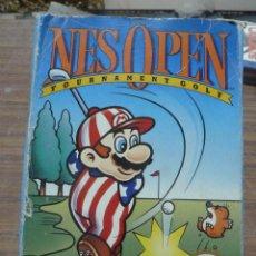 Videojuegos y Consolas: NES OPEN TOURNAMENT GOLF PARA NINTENDO NES VERSION ESPAÑOLA. Lote 261977450