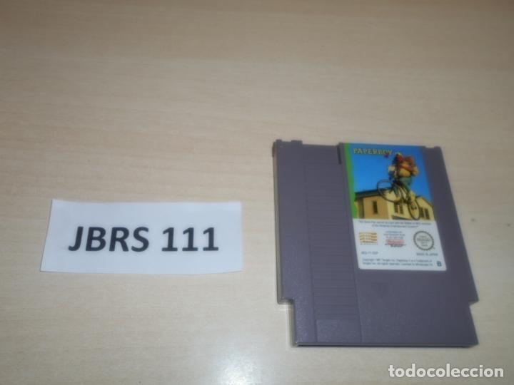 NES - PAPERBOY , PAL ESPAÑOL , SOLO CARTUCHO (Juguetes - Videojuegos y Consolas - Nintendo - Nes)