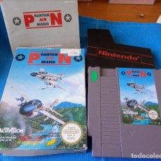 Videojuegos y Consolas: PHANTOM AIR MISSION NINTENDO NES PAL ESP. COMPLETO. MUY DIFÍCIL DE ENCONTRAR.. Lote 262141235