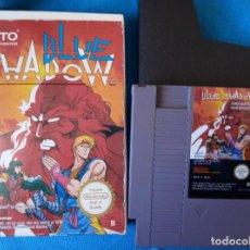 Videojuegos y Consolas: BLUE SHADOW NINTENDO NES PAL ESP, SIN INSTRUCCIONES.. Lote 262141560