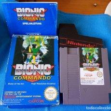 Videojuegos y Consolas: BIONIC COMANDO NINTENDO NES PAL ESP, DISNEY. COMPLETO CON INSTRUCCIONES.. Lote 262145300
