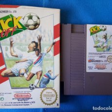 Videojuegos y Consolas: KICKOFF NINTENDO NES PAL ESP. SOLO CARTUCHO Y CAJA. Lote 262145525
