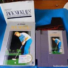 Videojuegos y Consolas: JACK NICKLAUS NINTENDO NES PAL ESP, COMPLETO CON INSTRUCCIONES.. Lote 262145750