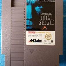 Videojuegos y Consolas: TOTAL RECALL, DESAFIO TOTAL. NINTENDO NES PAL ESP, SOLO CARTUCHO.. Lote 262254840