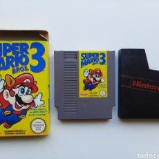 Videogiochi e Consoli: SUPER MARIO BROS 3 CON CAJA NINTENDO NES. Lote 262630390