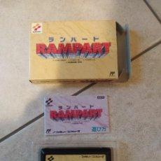 Videojuegos y Consolas: RAMPART NINTENDO NES FAMICOM COMPLETO JAPONES. Lote 263069385