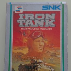 Videojuegos y Consolas: IRON TANK NINTENDO 1988, PARA NES, SNK CORPORATION. Lote 263230505