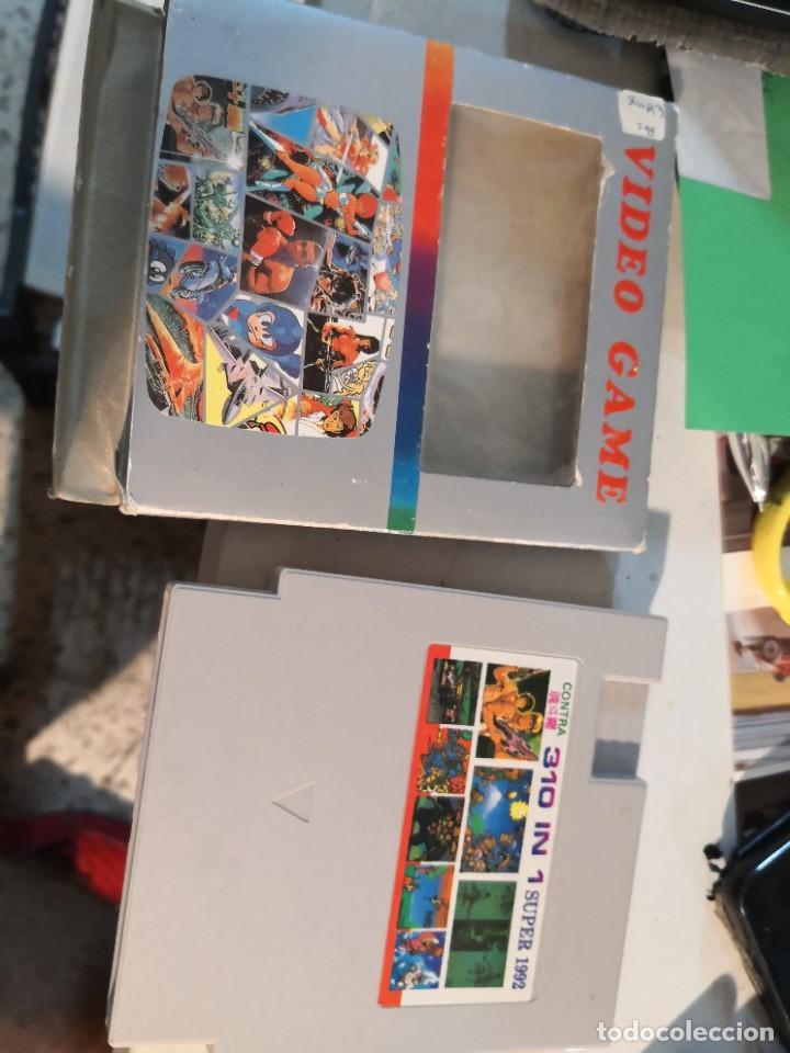 JUEGO CARTUCHO 310 EN 1 SUPER 1992 CARTUCHO DE JUEGOS PARA NINTENDO NES . JAPONES. (Juguetes - Videojuegos y Consolas - Nintendo - Nes)