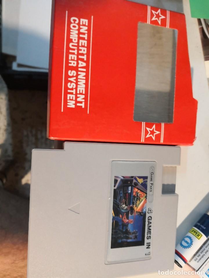 GAME PAKS 4 GAMES IN 1 EN - NINTENDO NES - GAME PAKS (Juguetes - Videojuegos y Consolas - Nintendo - Nes)