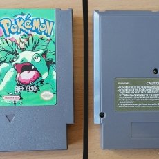 Videojuegos y Consolas: POKEMON GREEN VERSION NINTENDO NES - CLON (NASA, YESS, NIPPON'DO, BRIGMTON, NEVIR...). Lote 266213478