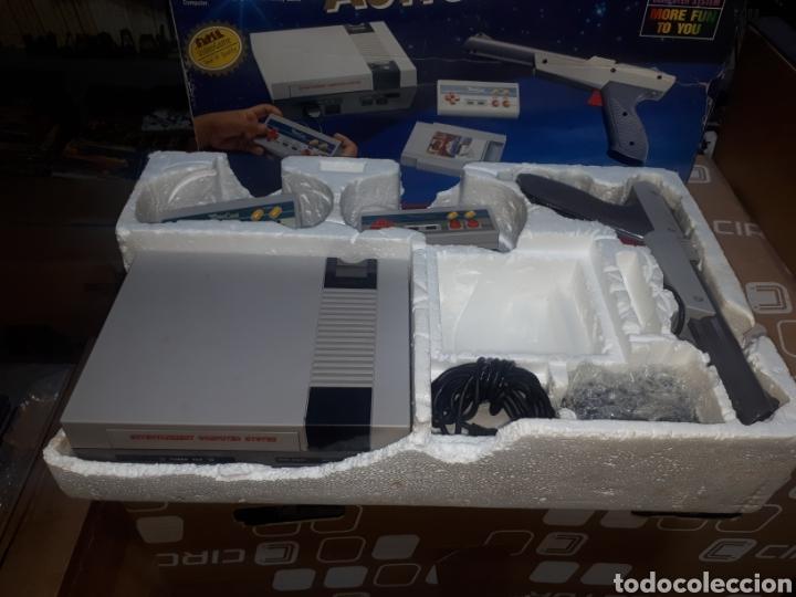 Videojuegos y Consolas: CONSOLA NASA EN CAJA FUNCIONANDO LE FALTA LA FUENTE DE ALIMENTACION Y EL CARTUCHO DE JUEGOS - Foto 4 - 268884379