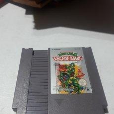 Videojuegos y Consolas: TURTLES II TORTUGAS NINJAS ARCADE GAME 1985 NINTENDO NES. Lote 268889259