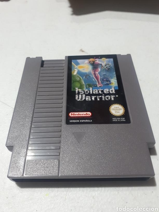 ISOLATED WARRIOR NINTENDO NES 1985 (Juguetes - Videojuegos y Consolas - Nintendo - Nes)