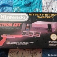 Videojuegos y Consolas: CONSOLA NINTENDO NES COMPLETA Y CON CAJA. Lote 268947089