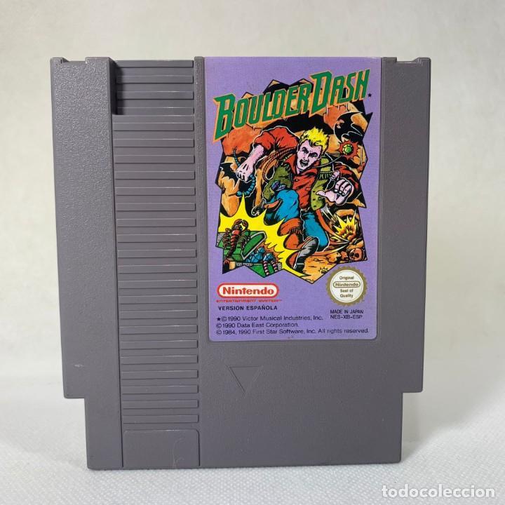VIDEOJUEGO NINTENDO NES - BOULDER DASH - ESP (Juguetes - Videojuegos y Consolas - Nintendo - Nes)