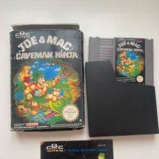 Videojuegos y Consolas: JOE & MAC NES COMPLETO. Lote 269215008