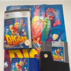 Videojuegos y Consolas: DIGGER T ROCK NES COMPLETO. Lote 269215208