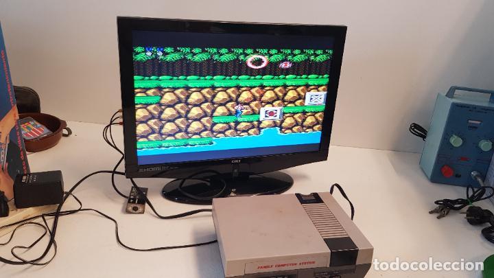 Videojuegos y Consolas: Consola Action Set SINASA. Clon, Nintendo Nes, símil, con caja original. - Foto 3 - 269302143