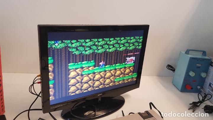 Videojuegos y Consolas: Consola Action Set SINASA. Clon, Nintendo Nes, símil, con caja original. - Foto 4 - 269302143
