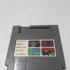 Videojuegos y Consolas: CLONE NINTENDO NES NASA MACROSS HOGANS ALLEY DUCK HUNT WILD GUNMAN. Lote 269468128