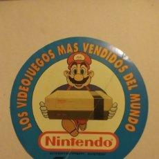 Videojuegos y Consolas: RARA PEGATINA NES NINTENDO MARIO. Lote 269474693