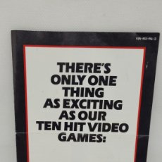 Videojuegos y Consolas: FOLLETO KONAMI NINTENDO. NES. NO GAME BOY. NO MEGADRIVE.. Lote 270625308