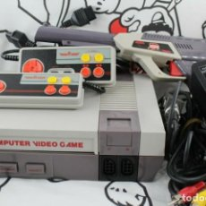 Videojuegos y Consolas: CONSOLA TIPO NINTENDO NES DY-636 COMPLETA BUEN ESTADO FUNCIONANDO. Lote 270960568
