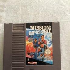 Videojuegos y Consolas: JUEGO DE NINTENDO NES MISSION IMPOSIBLE. Lote 272473763