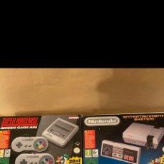 Videojuegos y Consolas: NES Y SNES MINI CON MANDO ARCADE. Lote 276446533