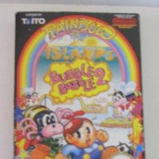 Videogiochi e Consoli: RAINBOW ISLANDS BUBBLE BOBBLE 2 SIN LIBRETO NINTENDO NES. Lote 276698718